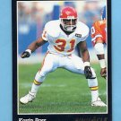 1993 Pinnacle Football #331 Kevin Ross - Kansas City Chiefs