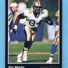 1993 Pinnacle Football #287 Eric Martin - New Orleans Saints