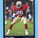 1993 Pinnacle Football #215 Don Griffin - San Francisco 49ers