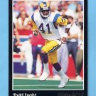 1993 Pinnacle Football #195 Todd Lyght - Los Angeles Rams
