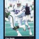 1993 Pinnacle Football #176 Chip Banks - Indianapolis Colts