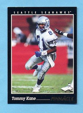 1993 Pinnacle Football 084 Tommy Kane Seattle Seahawks