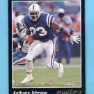 1993 Pinnacle Football #063 Anthony Johnson - Indianapolis Colts