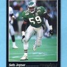 1993 Pinnacle Football #056 Seth Joyner - Philadelphia Eagles