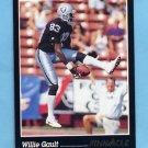 1993 Pinnacle Football #016 Willie Gault - Los Angeles Raiders