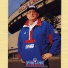 1991 Pro Line Portraits Football #289 Ray Handley CO - New York Giants