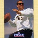 1991 Pro Line Portraits Football #198 John Fourcade - New Orleans Saints