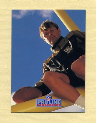 1991 Pro Line Portraits Football #182 Morten Andersen - New Orleans Saints