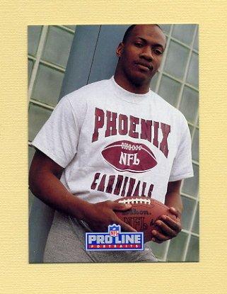 1991 Pro Line Portraits Football #163 Tim McDonald - Phoenix Cardinals