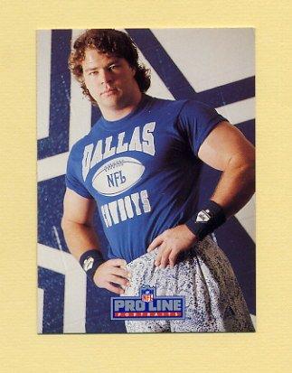 1991 Pro Line Portraits Football #093 Danny Noonan - Dallas Cowboys