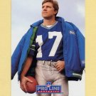 1991 Pro Line Portraits Football #082 Dave Krieg - Seattle Seahawks