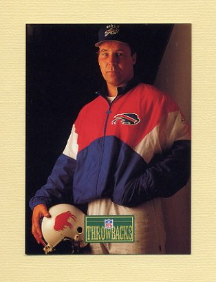 1992 Pro Line Portraits Football #442 Joe DeLamielleure RET - Buffalo Bills
