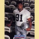 1992 Pro Line Portraits Football #440 Chester McGlockton RC - Los Angeles Raiders