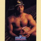 1992 Pro Line Portraits Football #434 Vaughn Dunbar RC - New Orleans Saints