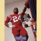 1992 Pro Line Portraits Football #400 Jon Vaughn - New England Patriots