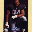 1992 Pro Line Portraits Football #370 Anthony Smith - Los Angeles Raiders