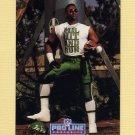 1992 Pro Line Portraits Football #320 Brad Baxter - New York Jets