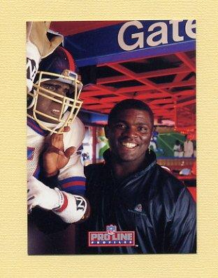 1992 Pro Line Profiles Football #466 Lawrence Taylor - New York Giants
