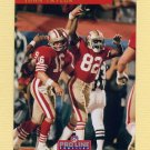 1992 Pro Line Profiles Football #406 John Taylor - San Francisco 49ers