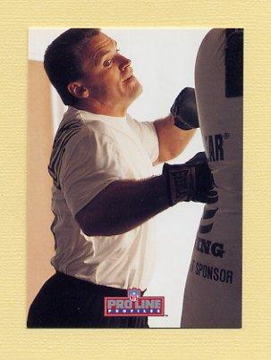 1992 Pro Line Profiles Football #394 Howie Long - Los Angeles Raiders