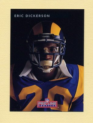 1992 Pro Line Profiles Football #379 Eric Dickerson - Los Angeles Raiders