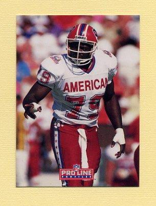 1992 Pro Line Profiles Football #357 Bruce Smith - Buffalo Bills