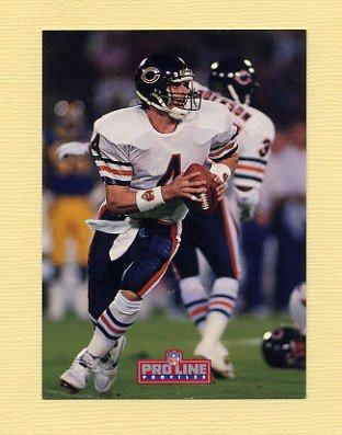 1992 Pro Line Profiles Football #166 Jim Harbaugh - Chicago Bears