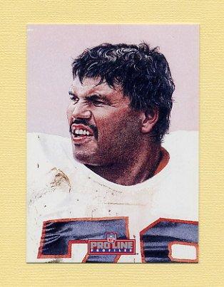 1992 Pro Line Profiles Football #086 Anthony Munoz - Cincinnati Bengals