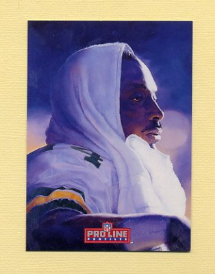 1992 Pro Line Profiles Football #077 Sterling Sharpe - Green Bay Packers NM-M