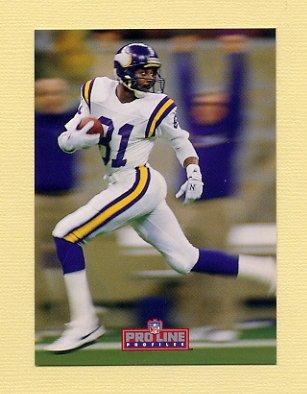 1992 Pro Line Profiles Football #069 Anthony Carter - Minnesota Vikings