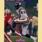 1992 Pro Line Profiles Football #064 Anthony Carter - Minnesota Vikings
