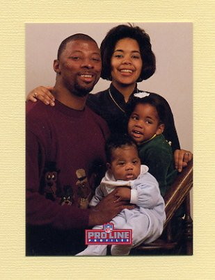1992 Pro Line Profiles Football #022 Carl Banks - New York Giants