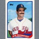 1989 Topps Traded Baseball #105T Ed Romero - Boston Red Sox