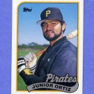 1989 Topps Baseball #769 Junior Ortiz - Pittsburgh Pirates NM-M