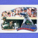 1989 Topps Baseball #729 Texas Rangers TL / Steve Buechele - Texas Rangers