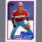 1989 Topps Baseball #707 Steve Jeltz - Philadelphia Phillies Ex