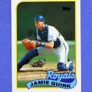 1989 Topps Baseball #702 Jamie Quirk - Kansas City Royals