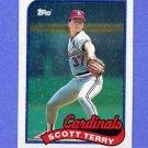 1989 Topps Baseball #686 Scott Terry - St. Louis Cardinals