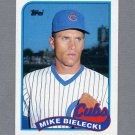 1989 Topps Baseball #668 Mike Bielecki - Chicago Cubs Ex