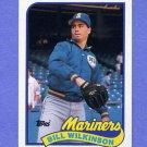 1989 Topps Baseball #636 Bill Wilkinson - Seattle Mariners