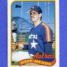 1989 Topps Baseball #589 Dave Meads - Houston Astros