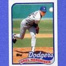 1989 Topps Baseball #550 Orel Hershiser - Los Angeles Dodgers