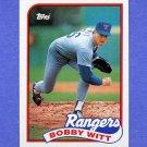 1989 Topps Baseball #548 Bobby Witt - Texas Rangers