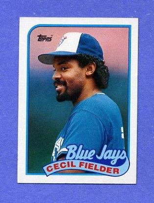1989 Topps Baseball #541 Cecil Fielder - Toronto Blue Jays