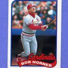 1989 Topps Baseball #510 Bob Horner - St. Louis Cardinals