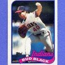 1989 Topps Baseball #509 Bud Black - Cleveland Indians