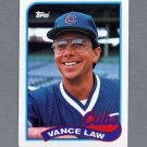 1989 Topps Baseball #501 Vance Law - Chicago Cubs Ex