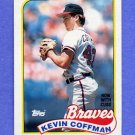 1989 Topps Baseball #488 Kevin Coffman - Chicago Cubs