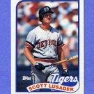 1989 Topps Baseball #487 Scott Lusader - Detroit Tigers