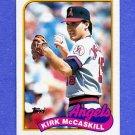 1989 Topps Baseball #421 Kirk McCaskill - California Angels